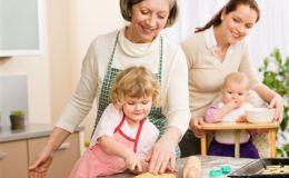 Воспитание ребенка и бабушки. Новое исследование
