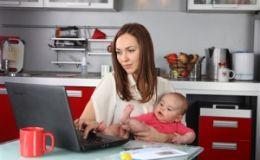 Удаленная работа для мам. Новый Законопроект Минсоцполитики