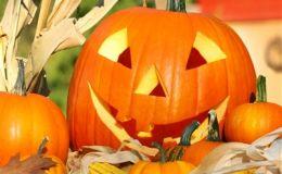 Тыквы на Хэллоуин для детей