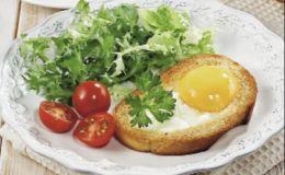 Завтрак для школьника: яичные тосты