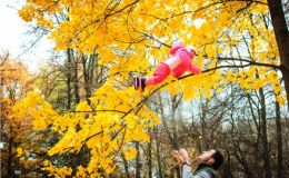 Особенности осенней прогулки с ребенком от 9 до 12 месяцев: советы педиатра