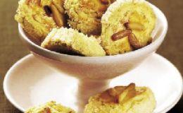 Вкусная выпечка: печенье с кедровыми орешками