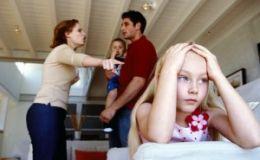 Ученые: ссоры в семье влияют на развитие мозга у детей