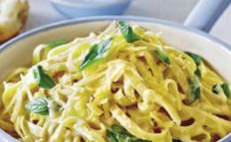 Вкусное блюдо для школьника — паста «Альфредо»
