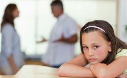Семейные ссоры очень влияют на девочек. Исследование