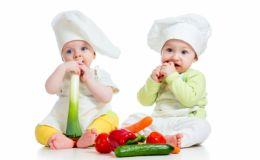 Овощи на детской тарелке — 5 ярких рецептов с фото