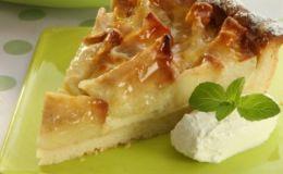 Яблочный пирог с маскарпоне для всей семьи