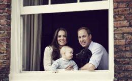 Кейт Миддлтон и принц Уильям показали фото подросшего принца Джорджа