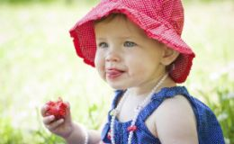 Полезные ягоды в детском рационе