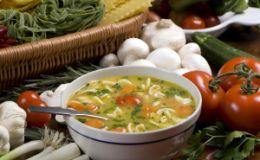 Пикантный чесночный суп. Рецепт