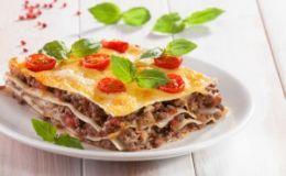 Классическая итальянская лазанья. Рецепт