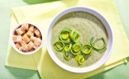 Фасолевый суп со шпинатом. Рецепт