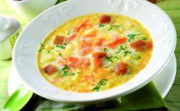 Рыбный суп с сыром. Рецепт