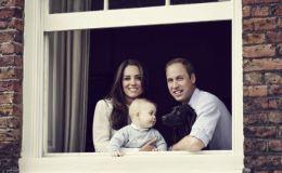 Принцу Джорджу три года: Кейт Миддлтон показала очаровательные фото именинника