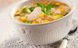 Суп с брюссельской капустой для детей