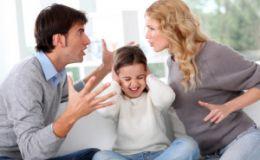 Исследование: ссоры в семье не вредят детской психике