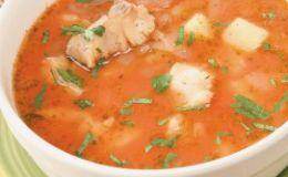 Рыбный суп для детей. Рецепт