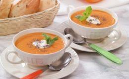Суп-пюре с форелью