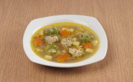 Куриный суп с клецками. Рецепт