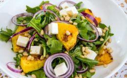 Тыквенный салат. Рецепт