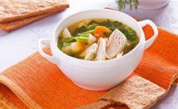 Диетический суп из индейки для детей