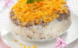 Салат «Мимоза». Рецепт