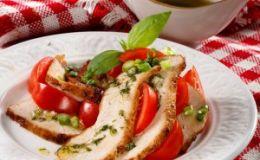 Изысканная закуска: салат из индейки