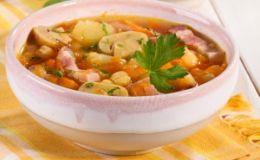 Гороховый суп с шампиньонами. Рецепт