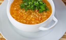 Пикантный томатный суп. Рецепт