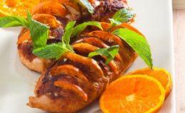 Индейка с мандаринами. Рецепт