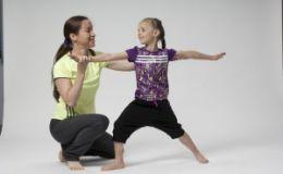 Йога для детей — комплекс упражнений для укрепления мышц спины и ног