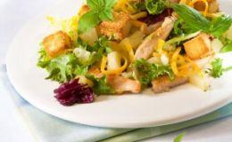 Салат с рукколой и тыквой. Рецепт