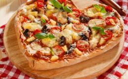 Пицца ко Дню Влюбленных. Рецепт