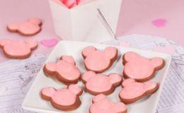 Печенье-меренга в шоколаде от Микки на День Святого Валентина
