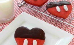 Мастер-класс: печенье-валентинка в шоколаде от Микки