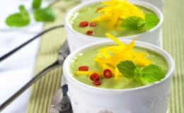 Диетический крем-суп из авокадо. Рецепт
