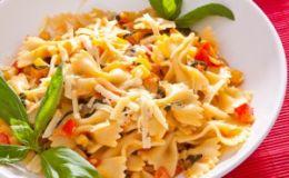 Итальянская паста с овощами. Рецепт