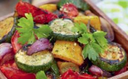 Как приготовить печеные овощи?