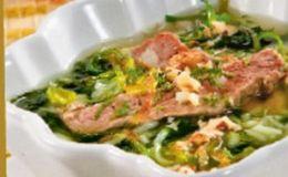 Суп со шпинатом для детей. Рецепт