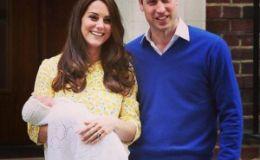 Кейт Миддлтон и принц Уильям дали имя новорожденной дочери