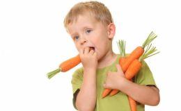 Как заставить ребенка полюбить овощи?