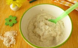 Рисовая каша — рецепт для первого прикорма