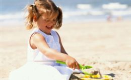 Солнечный ожог у ребенка: признаки и первая помощь