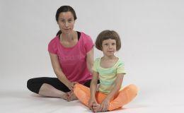 Упражнения для спины для детей