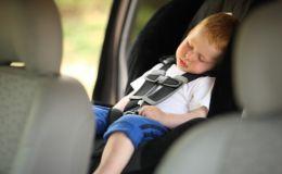 Тепловой удар в автомобиле: как уберечь ребенка