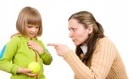 Дети заставляют родителей краснеть более 500 раз в год