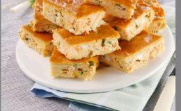 Вкуснейший творожно-сырный пирог. Рецепт