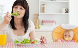 Как похудеть после родов? Воспользуйтесь объемной диетой