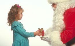 Новогоднее поздравление ребенка от Деда Мороза и Снегурочки