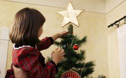 Украшаем с ребенком дом к Новому году